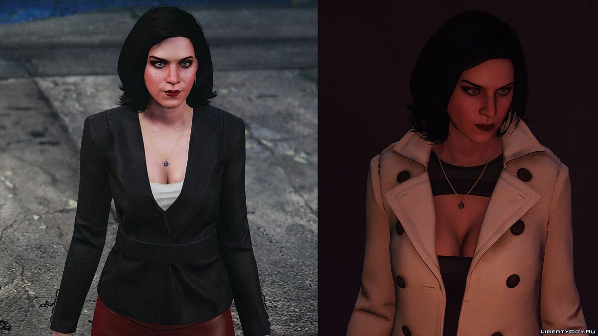 Texture mod Improved textures for Molly Schulz for GTA 5