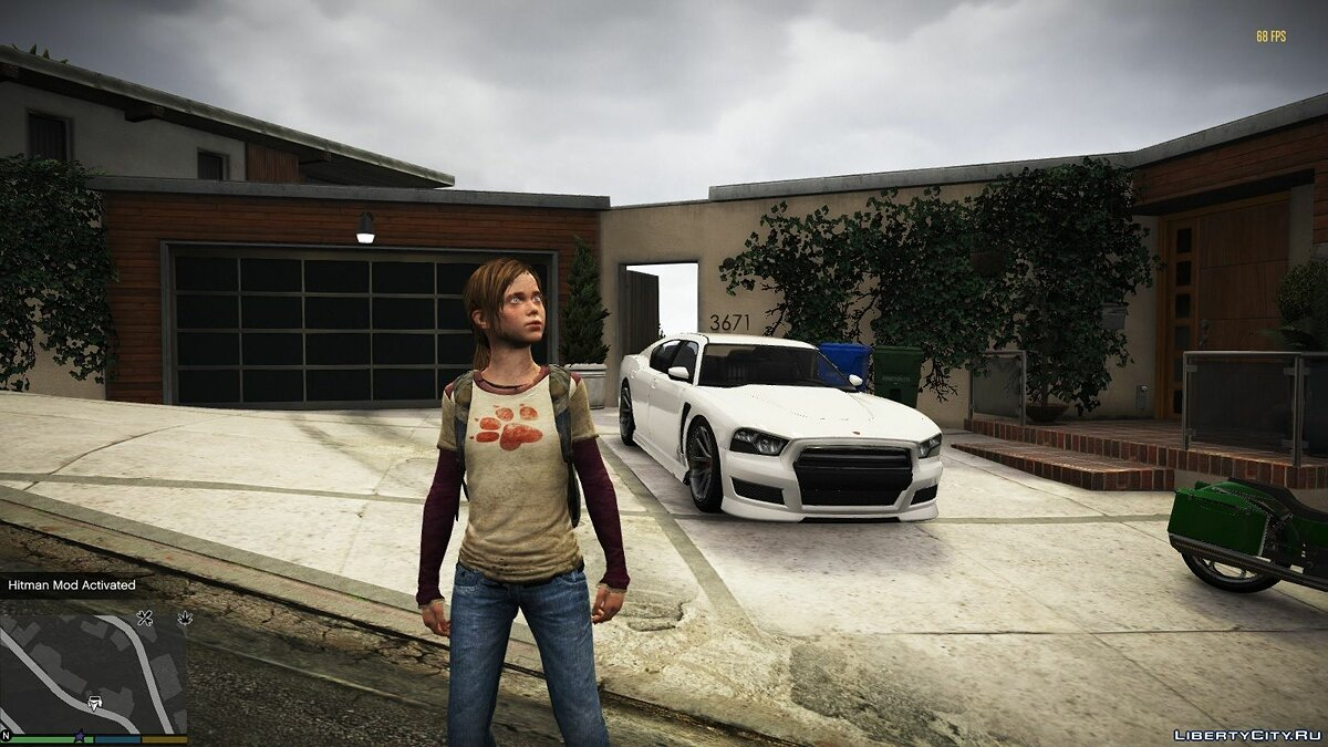 Texture mod Ellie cloth pack 1.0 for GTA 5