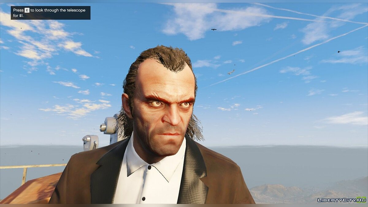 Texture mod Trevor without tattoos for GTA 5