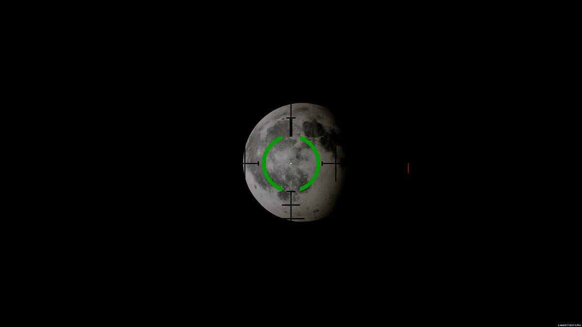 Texture mod Moon in 4K for GTA 5