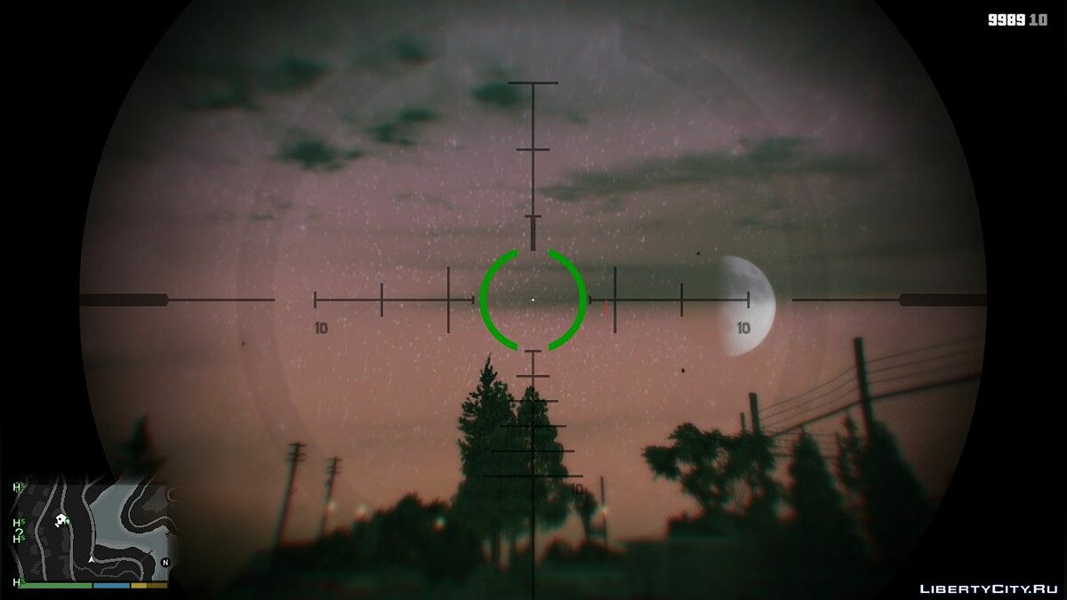 Texture mod Enhanced night sky v1.0 for GTA 5