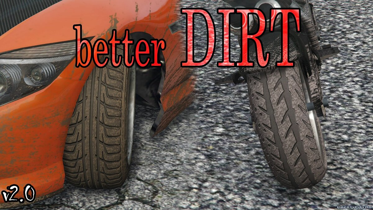 Texture mod Lord of Dirt & Skin & # x27; Devil & Tires (2K Textures) 3.0 for GTA 5