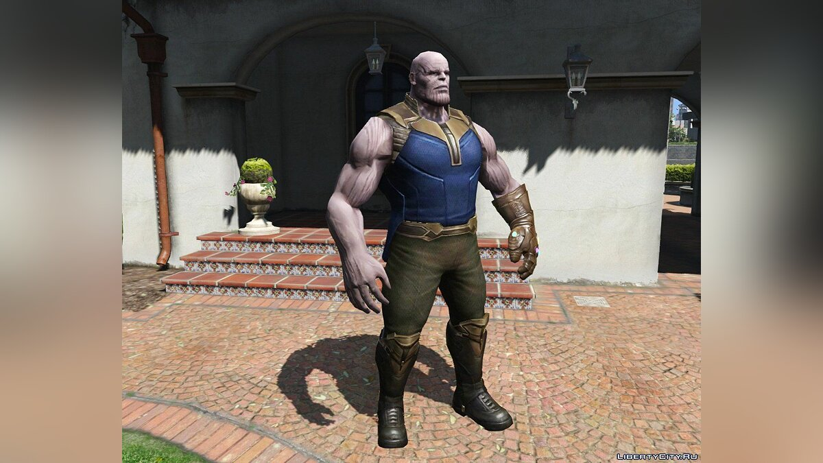 Texture mod Thanos (retexture) for GTA 5