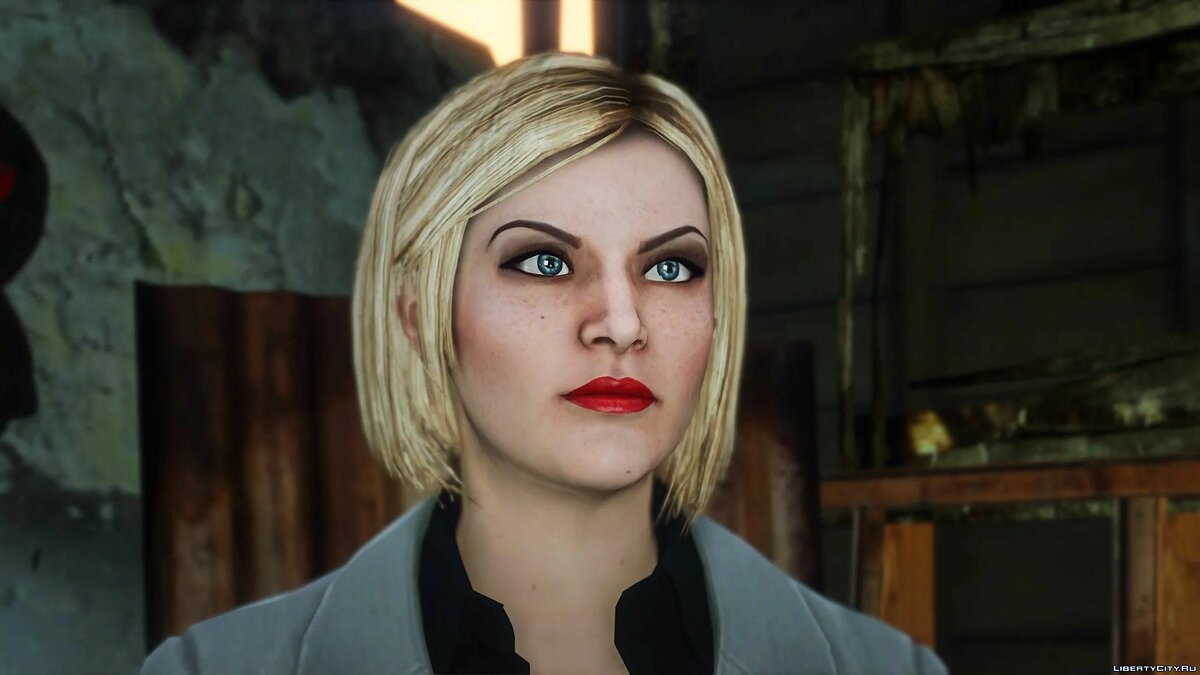 Texture mod Superior Agatha Baker for GTA 5