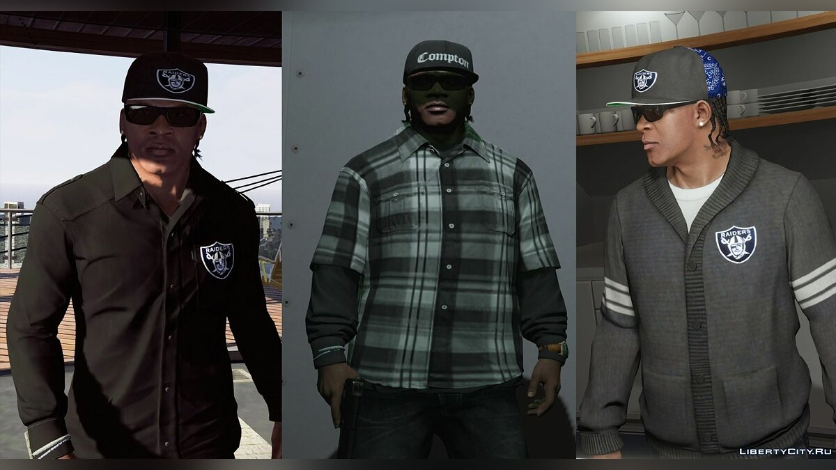 Franklin High Quality Textures for GTA 5 - Картинка #2