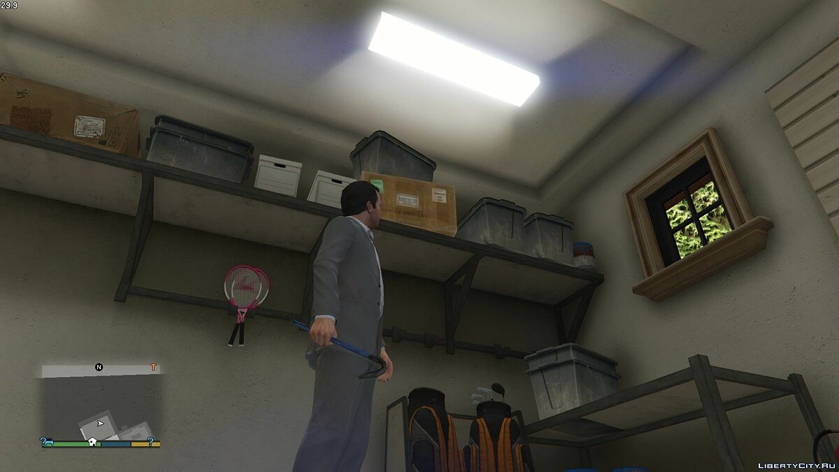 Texture mod Blue scrap for GTA 5