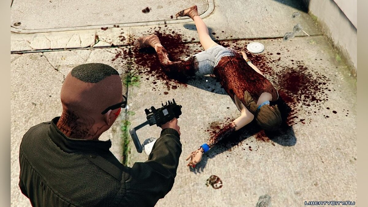 [4K | HD] Raider's Blood, Violence & Ragdoll Overhaul 2.7 for GTA 5 - screenshot #5