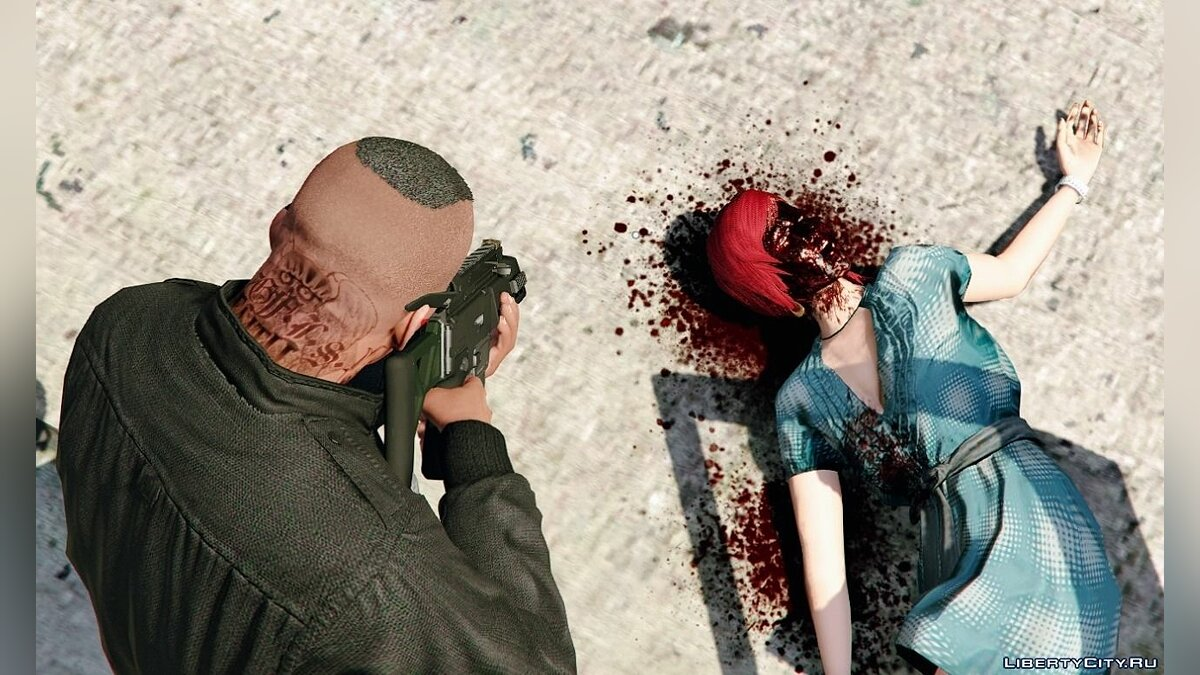[4K | HD] Raider's Blood, Violence & Ragdoll Overhaul 2.7 for GTA 5 - screenshot #13