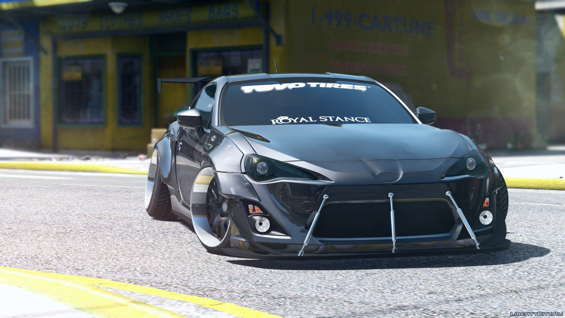 Toyota Gt86 Rocketbunny Add On Replace 1 0 For Gta 5