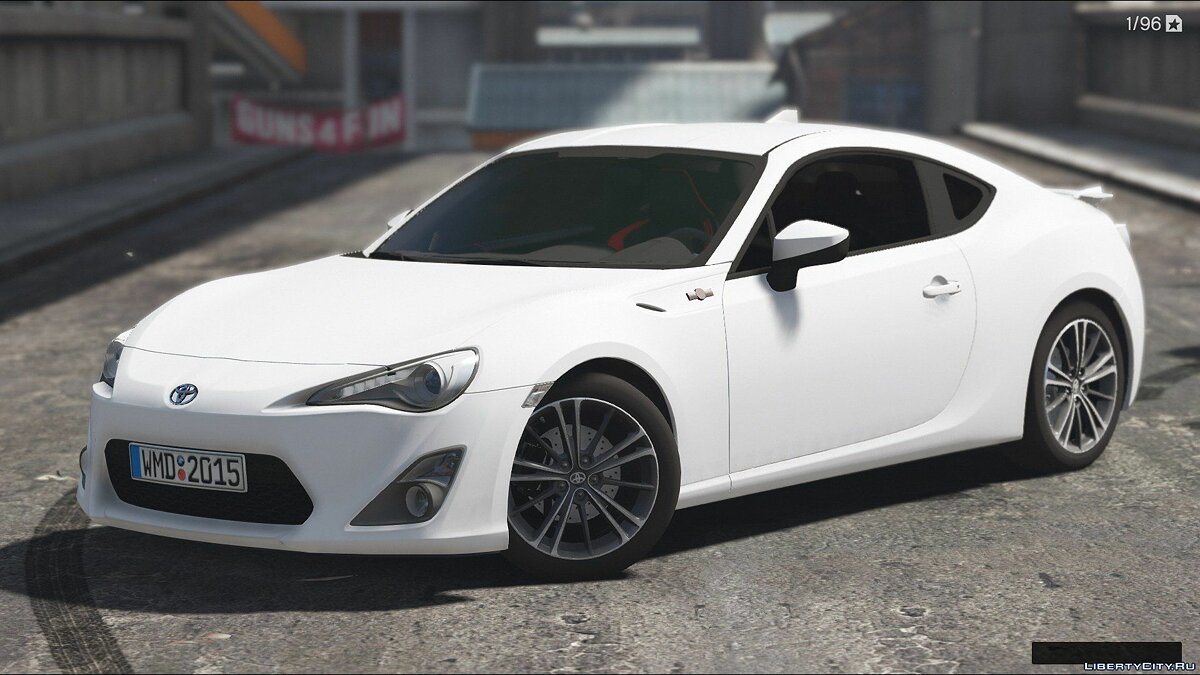 Toyota car Toyota GT86 [Add-On / Replace | Tunable | HQ] 1.2 for GTA 5