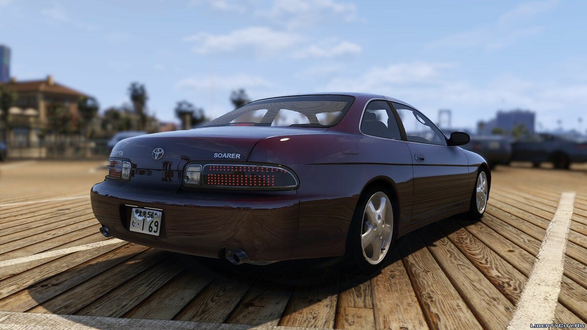Toyota car Toyota Soarer [Add-On | Extras | Tuning | RHD] 1.0 for GTA 5