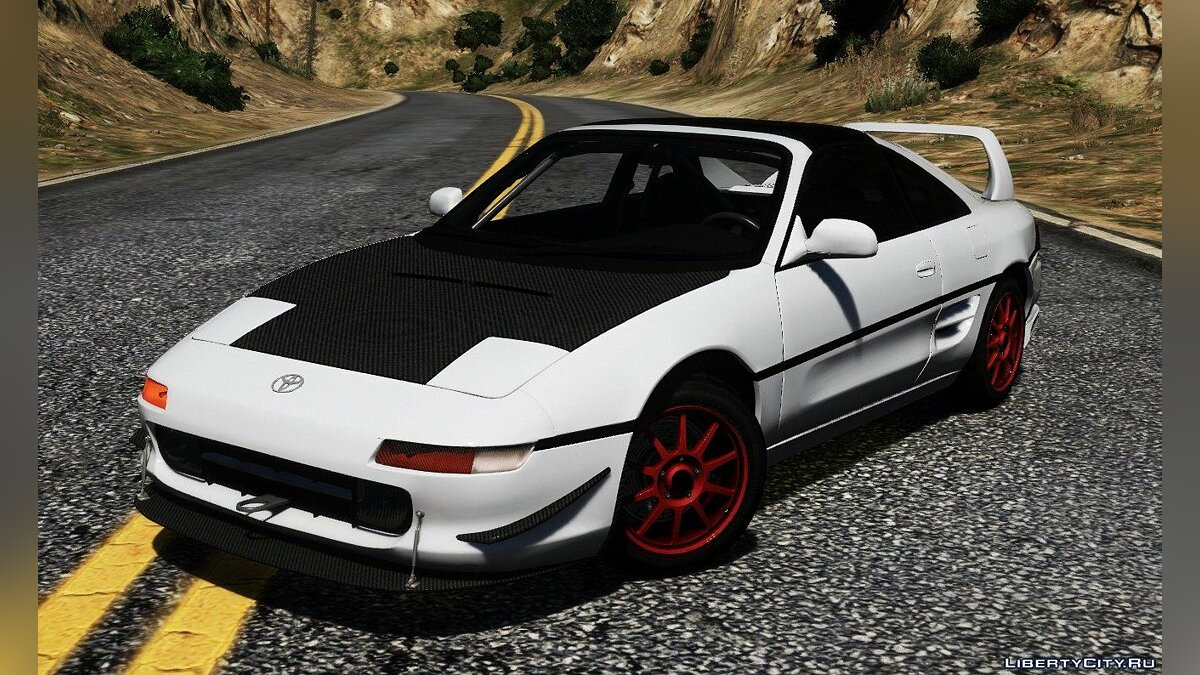 Toyota car Toyota MR-2 GT (SW-20) [Stock|Tuning|Addon] for GTA 5