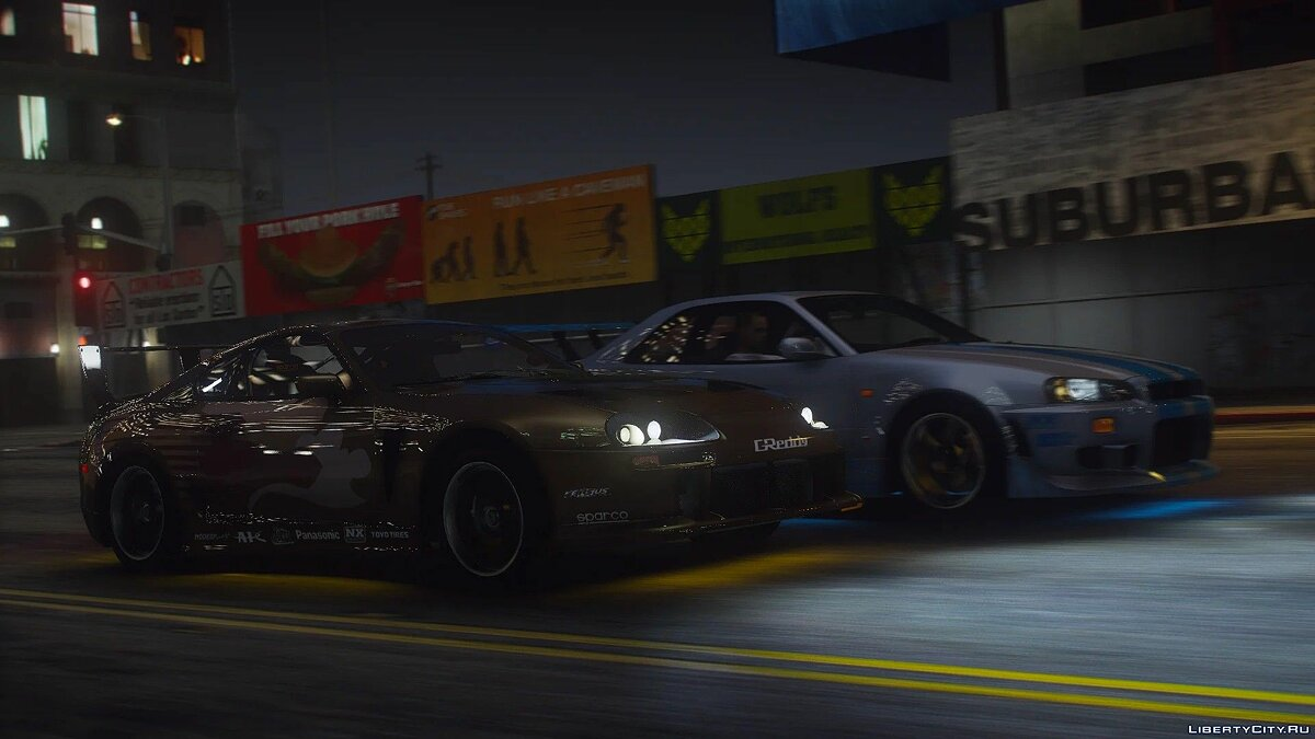 Toyota car Toyota Supra Turbo '98 (A80) [Add-On | LODs | 250+ Tuning parts | Sound] for GTA 5