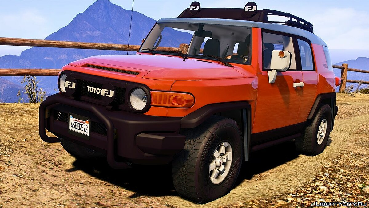 Toyota car 2012 Toyota FJ Cruiser [Replace | Addon | LODS | Template] 1.0 for GTA 5