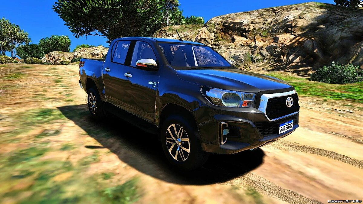 Toyota car Toyota Hilux 2019 [Addon FiveM | Replace Offline] 1.0 for GTA 5