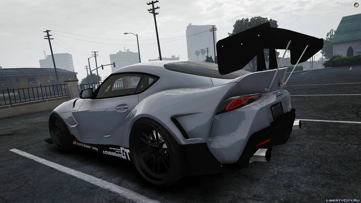 Toyota car 2020 Toyota Supra A90 Pandem Kit [Add-On / Replace] 1.0 for GTA 5