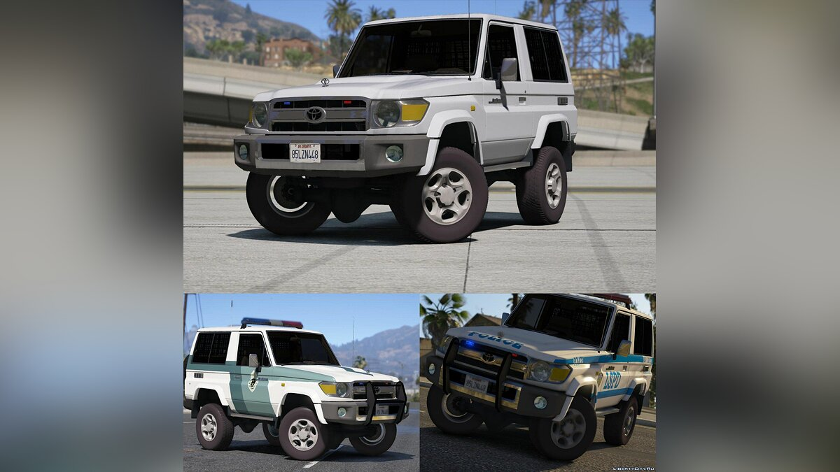 Toyota Land Cruiser Machito Police 2014 [Add-On | Replace | Livery | Extras | Template] 1.0 for GTA 5