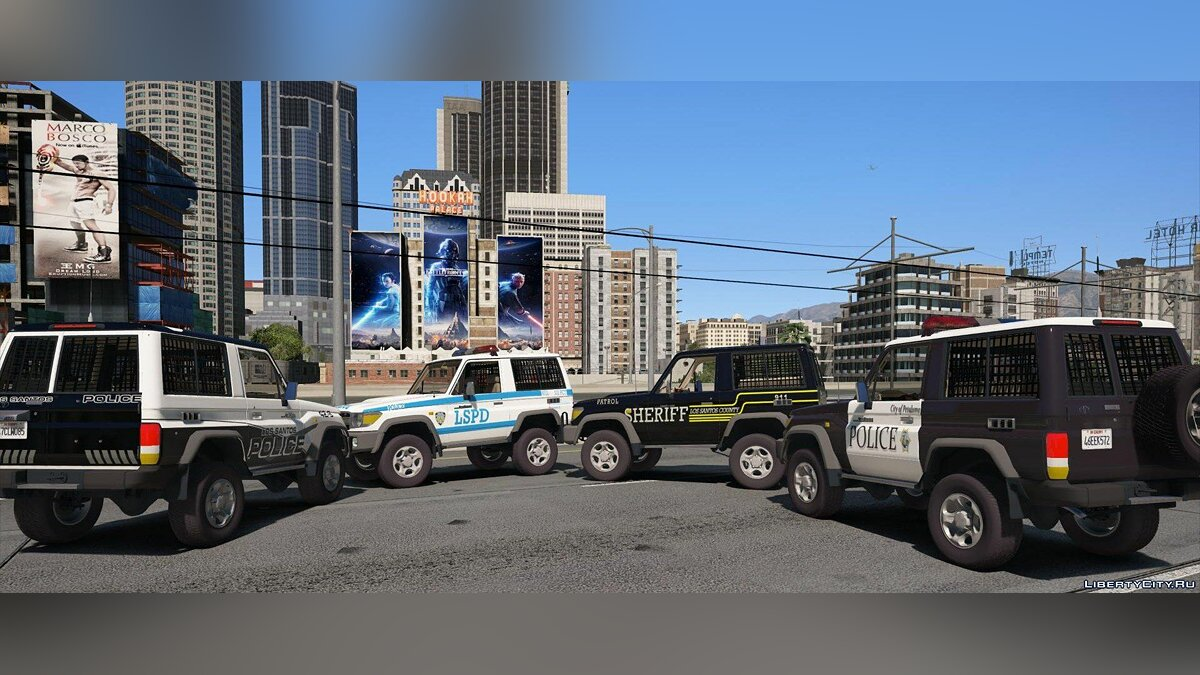 Toyota Land Cruiser Machito Police 2014 [Add-On | Replace | Livery | Extras | Template] 1.0 for GTA 5 - screenshot #3