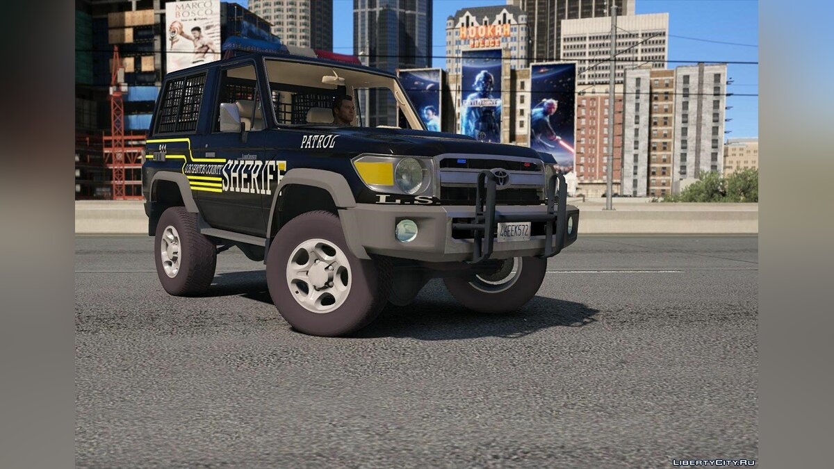 Toyota Land Cruiser Machito Police 2014 [Add-On | Replace | Livery | Extras | Template] 1.0 for GTA 5 - screenshot #4
