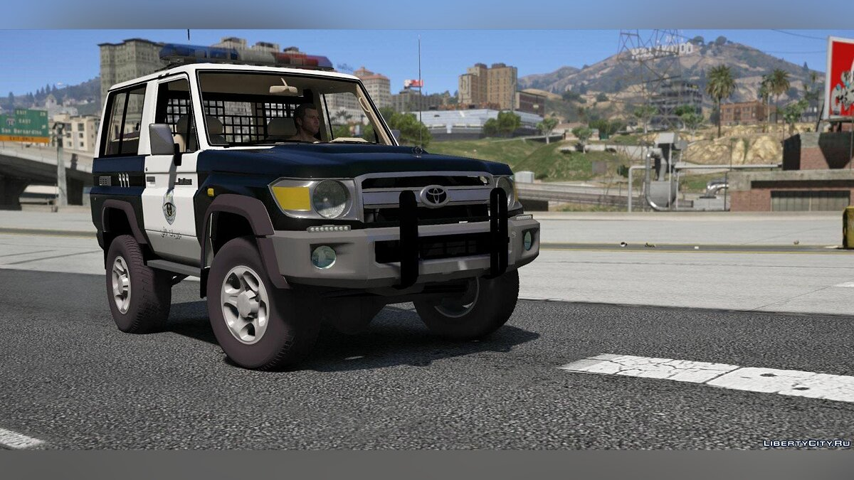 Toyota Land Cruiser Machito Police 2014 [Add-On | Replace | Livery | Extras | Template] 1.0 for GTA 5 - screenshot #6
