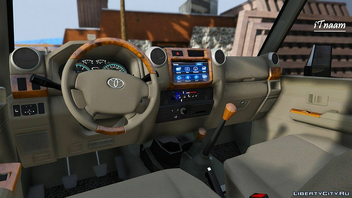 Toyota car 2017 Toyota Land Cruiser v6 [Add-on / OiV / Tuning / Livery / Replace] Version 2.2 for GTA 5