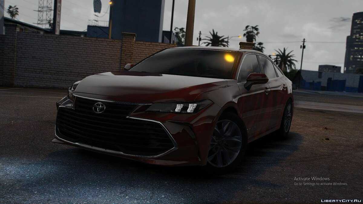 Toyota car 2019 Toyota Avalon HLE V1.1 for GTA 5