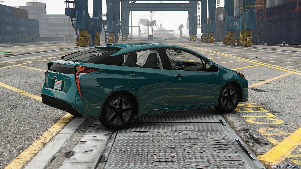 Toyota car 2017 Toyota Prius [Add-On / Replace | Template] 1.1 for GTA 5
