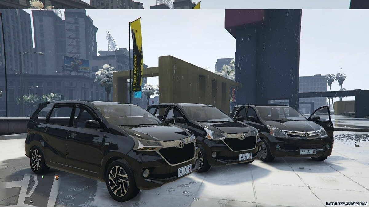 Toyota car Toyota avanza 2015 facelift [replace] for GTA 5
