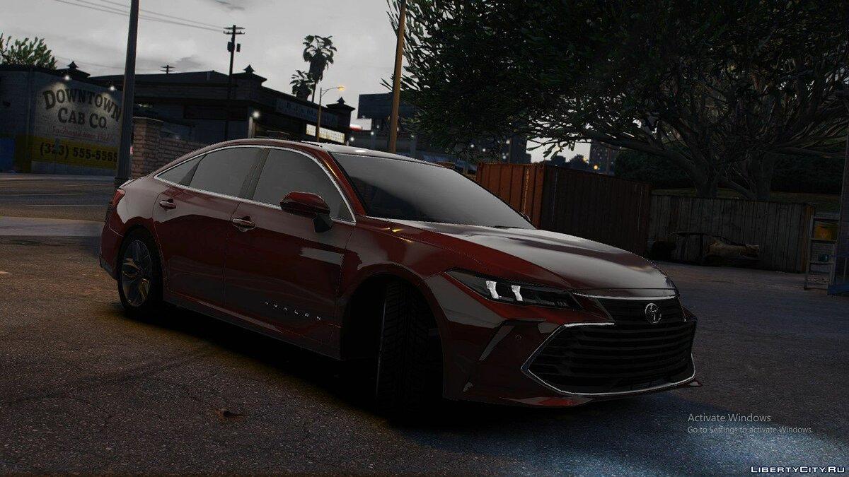 Toyota car 2019 Toyota Avalon HLE SOUTH for GTA 5