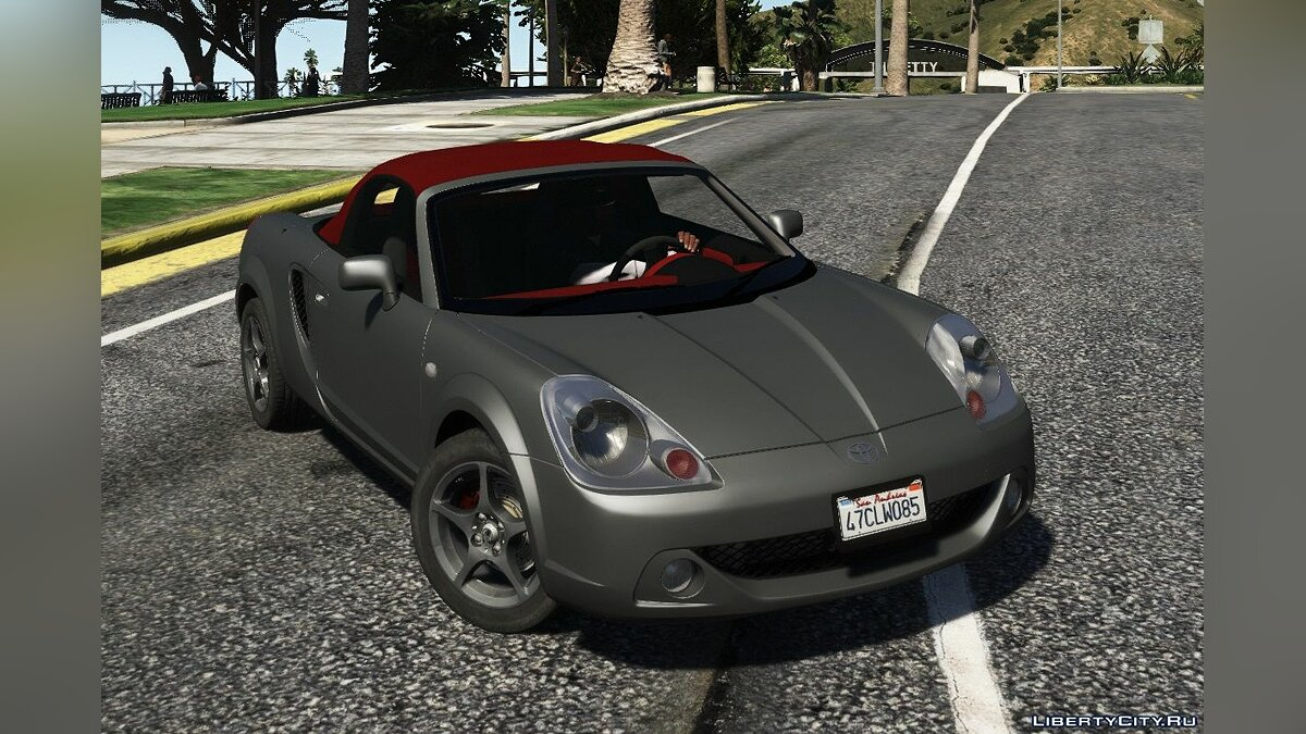 Toyota car Toyota MR-S [Add-On | Tuning | Animated roof | LODS | Template] 1.0 for GTA 5