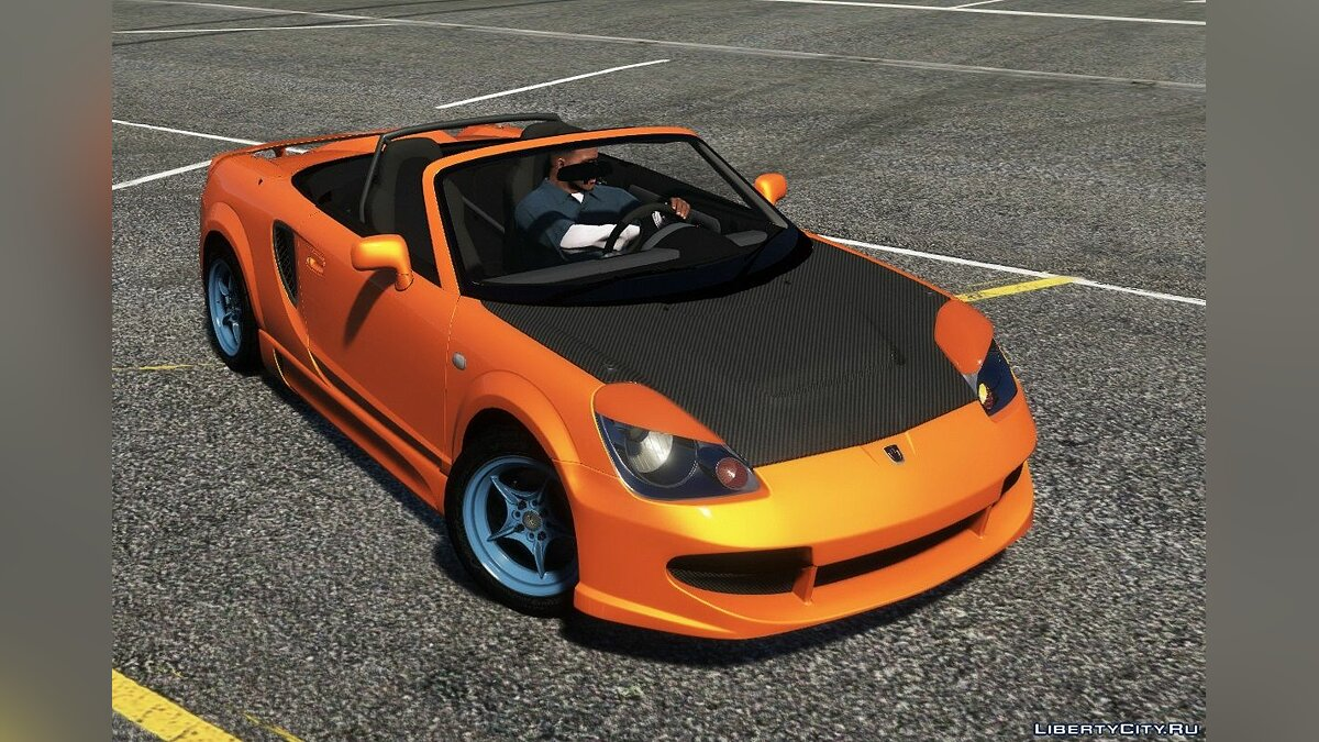 Toyota car Toyota MR-S [Add-On | Tuning | Animated roof | LODS | Template ] 1.0 for GTA 5