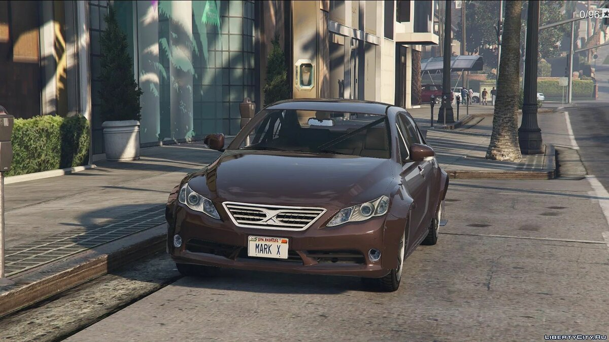 Toyota car 2009 Toyota Mark X [Add-On | Replace] 0.3 for GTA 5