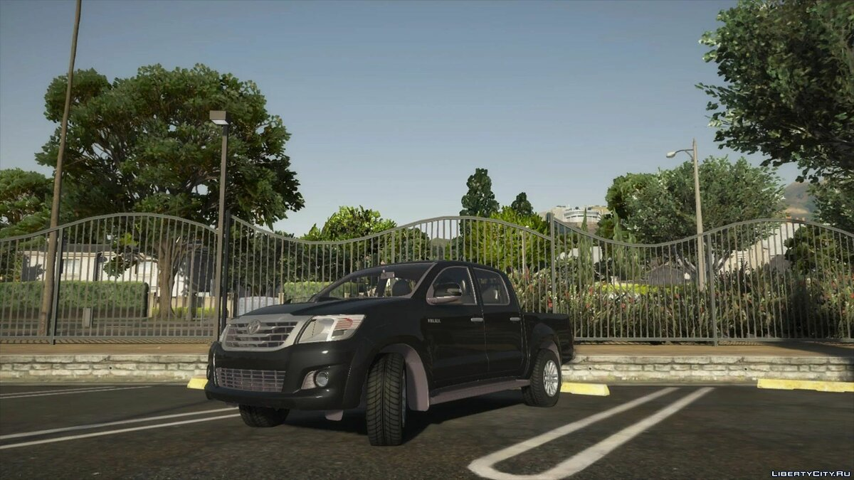 Toyota car 2012 Toyota Hilux [Add on Version] 1.0 for GTA 5