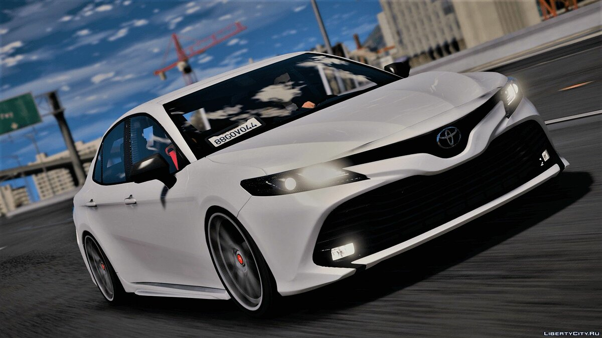 Toyota car Toyota Camry XSE 2018 for GTA 5