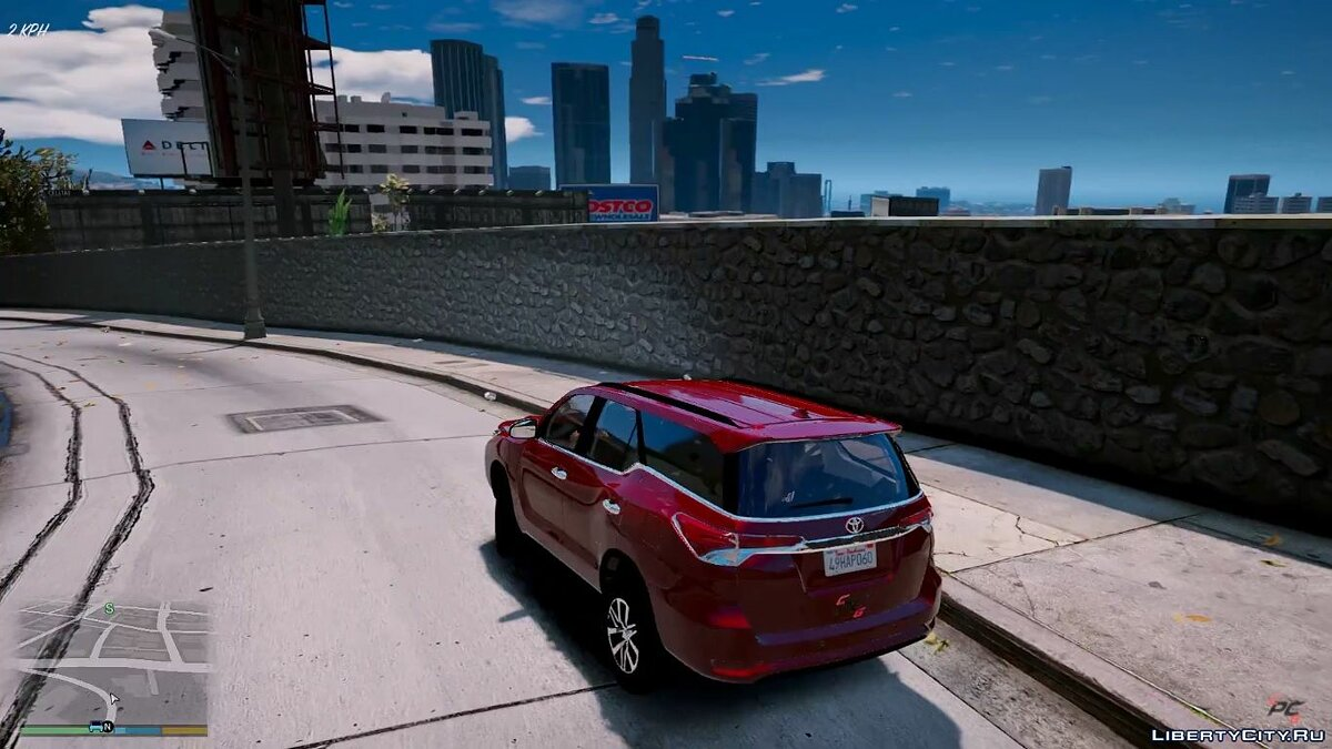 Toyota car Toyota Hilux SW4 2017 / Fortuner 2017 1.0 for GTA 5