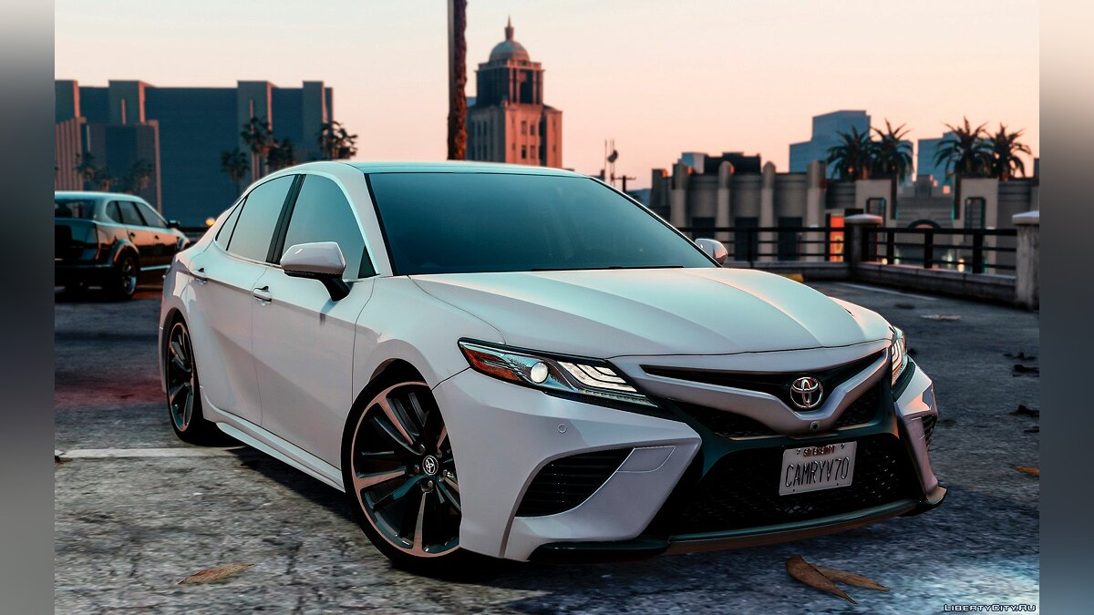 Toyota car Toyota Camry XSE 2018 [Replace / Add-On] 1.0 for GTA 5