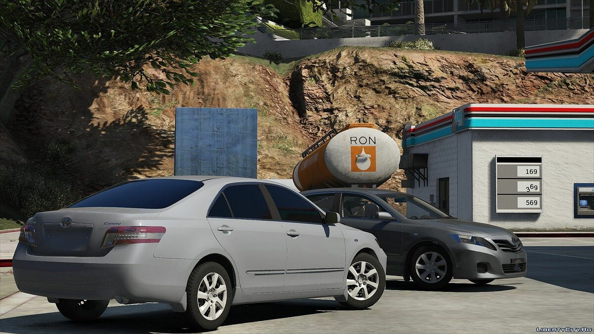 Toyota Camry 2011 GL High Quality 1.0 for GTA 5 - screenshot #7
