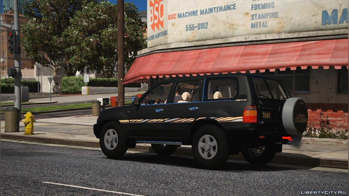 Toyota car Toyota Land Cruiser 1999 | Replace] Unlocked 1.0 for GTA 5