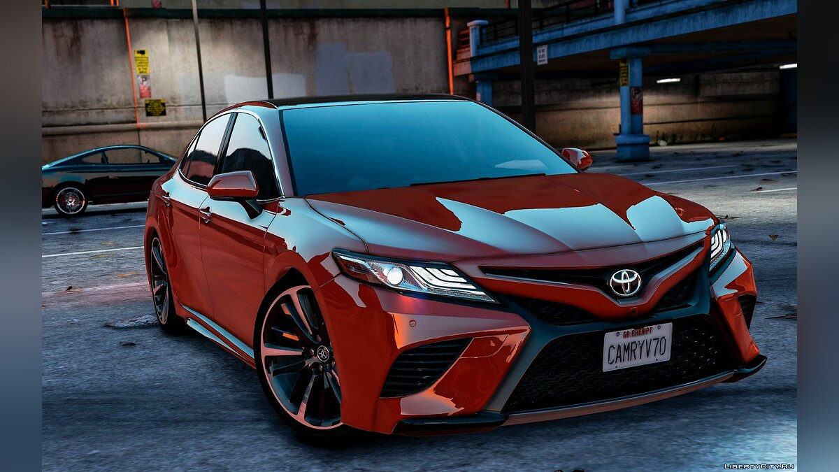 Toyota car Toyota Camry XSE 2018 [Replace / Add-On] 1.2 for GTA 5