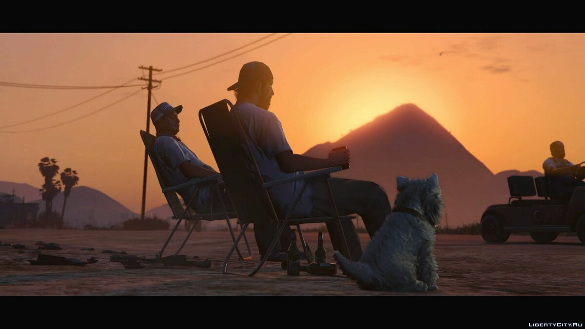 Trailer output for PS4 and Xbox One (1080p) for GTA 5 - screenshot #7