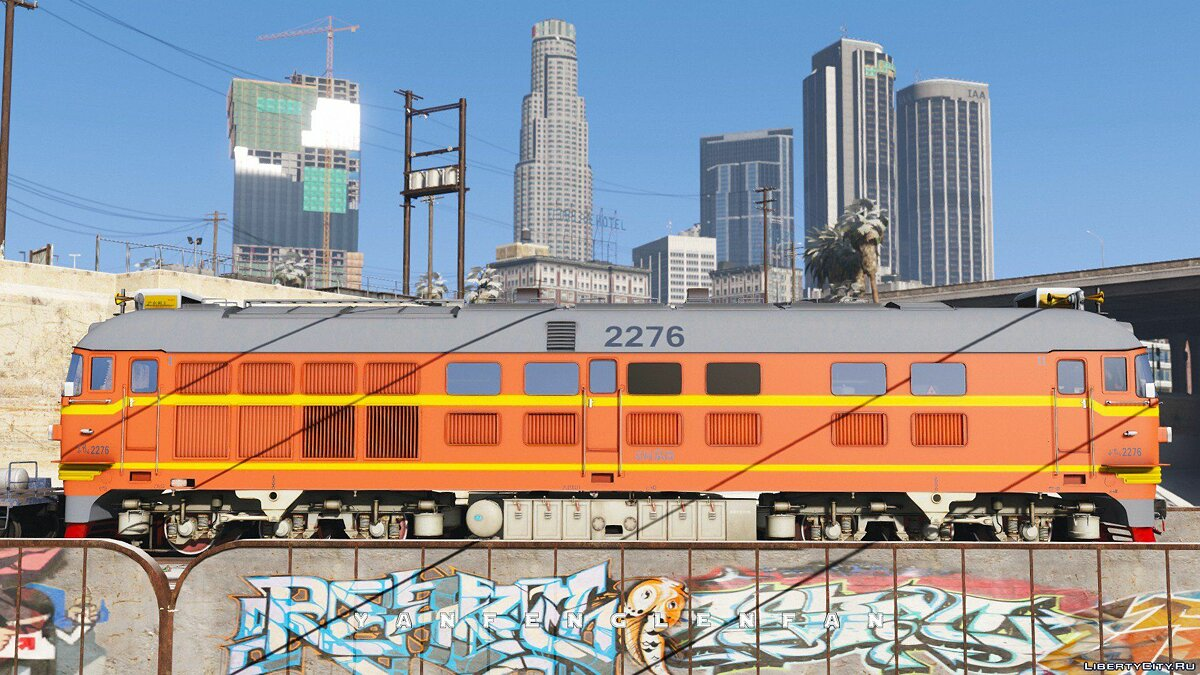 DF4B Type Diesel Locomotive [Add-On | Replace] for GTA 5 - screenshot #7
