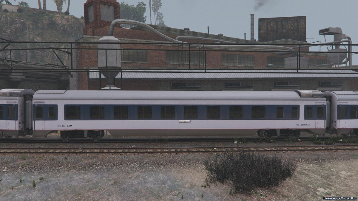 Train and tram China Railways 25T Series Passenger Coaches [Replace] 1.5 for GTA 5
