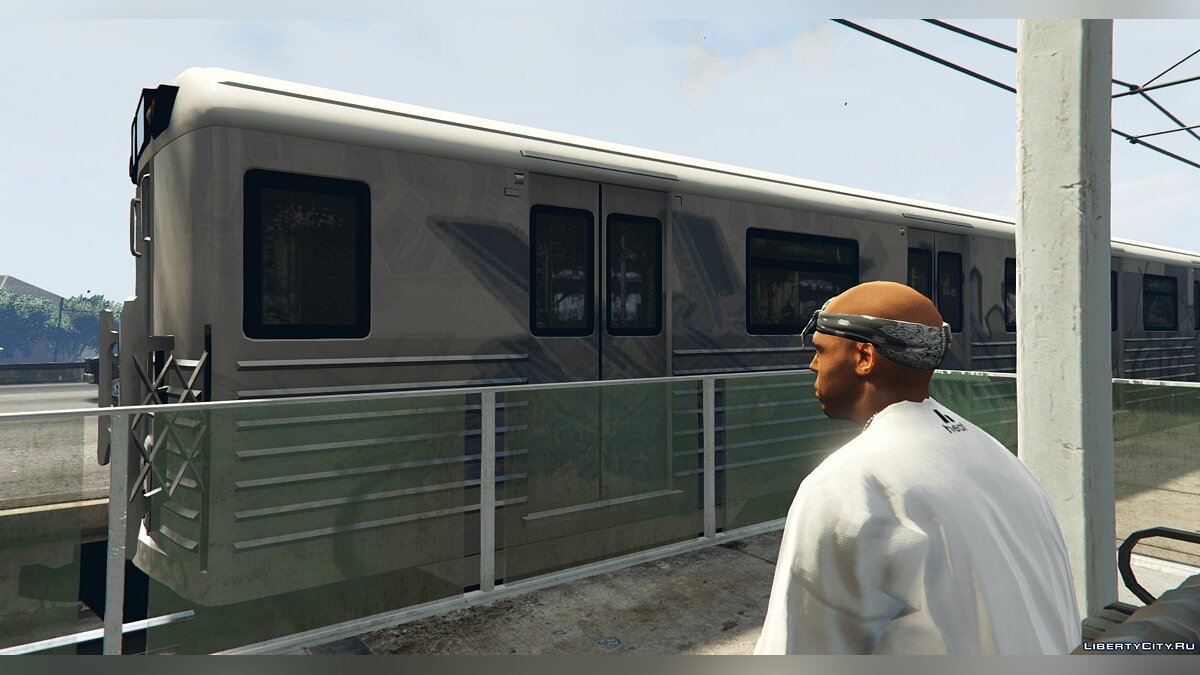 Train and tram 2008 Liberty City Metro Train [Replace] 1.0 for GTA 5