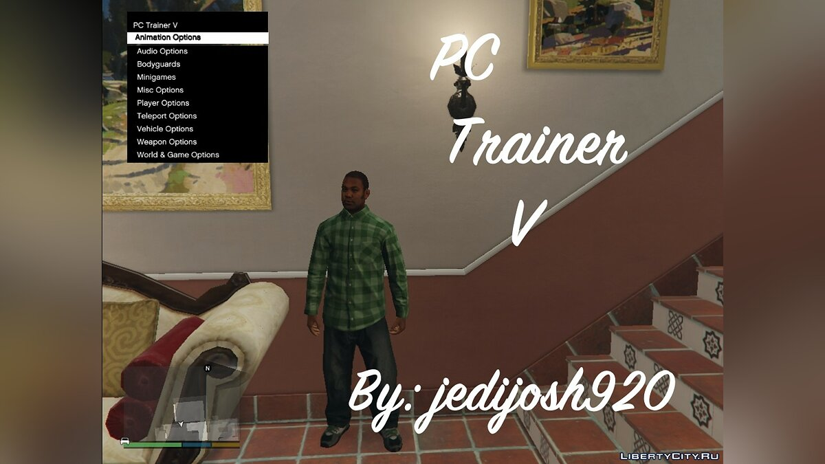 PC Trainer V Beta 8 for GTA 5 - Картинка #1