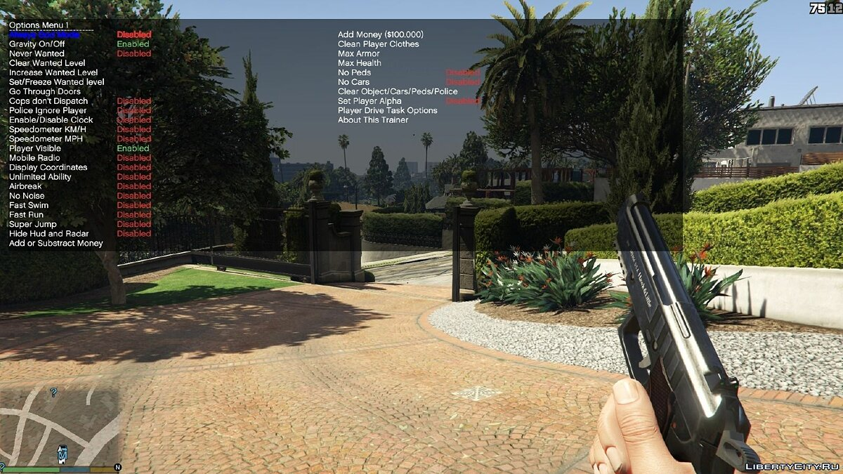 Trainer Simple Trainer v1.9 for GTA 5