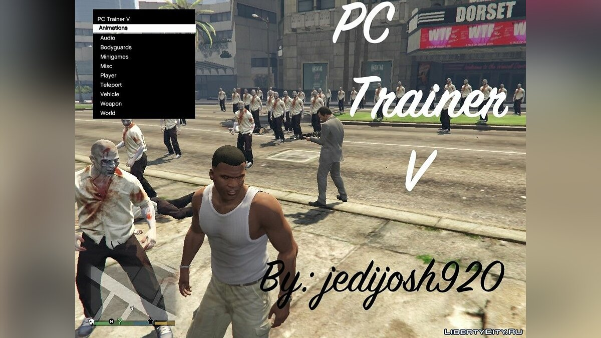 PC Trainer V Beta 7 for GTA 5 - Картинка #1
