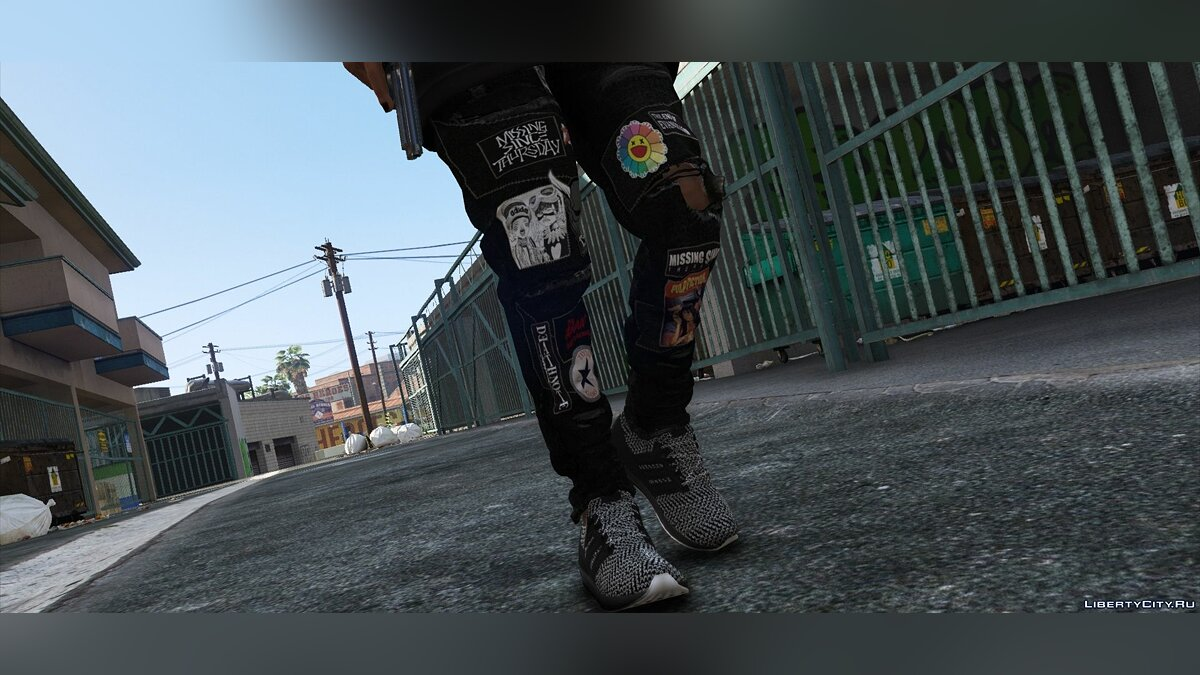 Pants and shorts MISSING SINCE THURSDAY® PATCH JEANS 1.1 for GTA 5