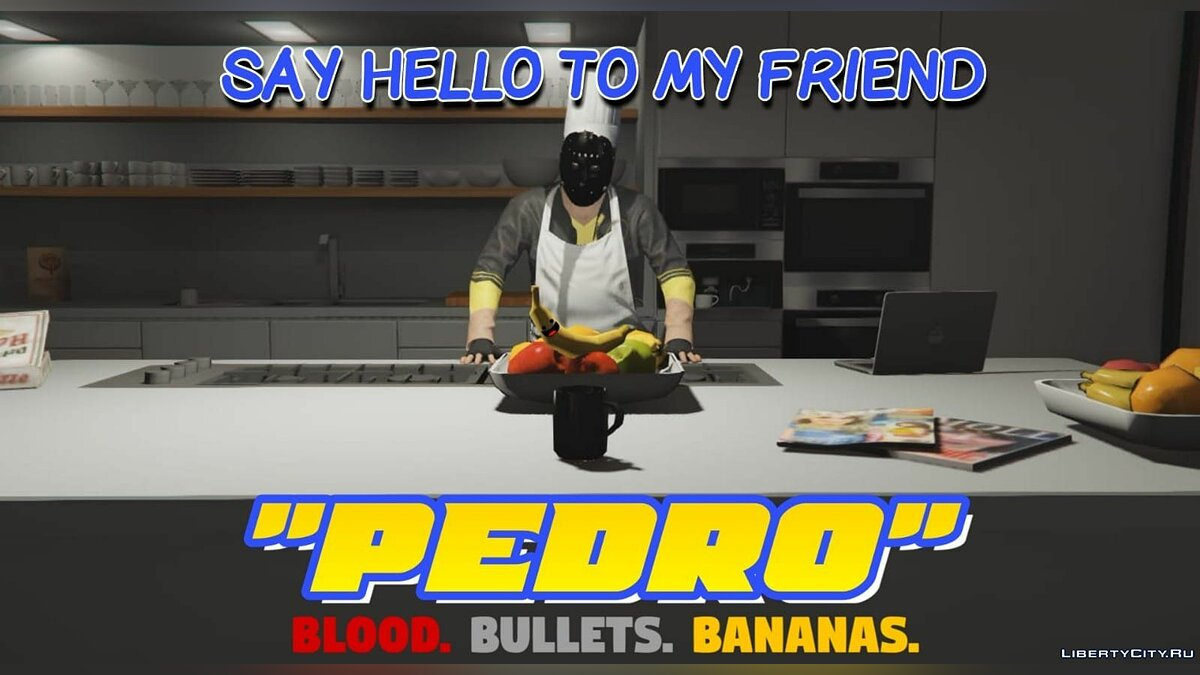Pants and shorts Одежда из игры My Friend Pedro for GTA 5