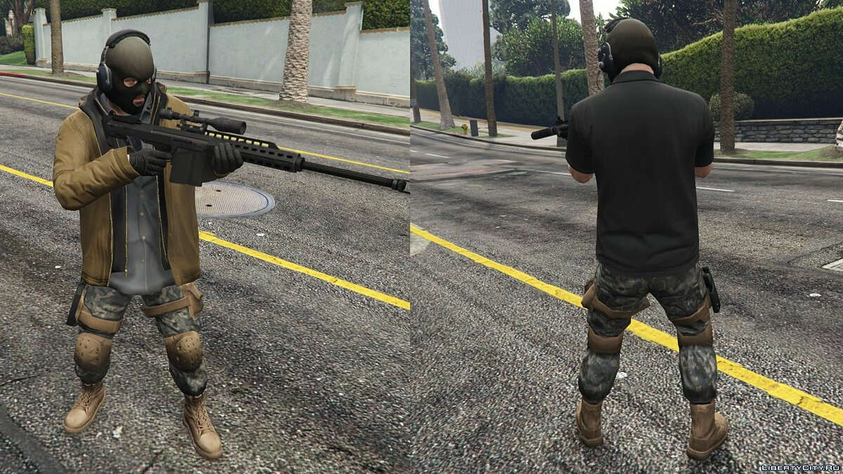 Pants and shorts Combat Pants for Trevor, Franklin & Micheal for GTA 5