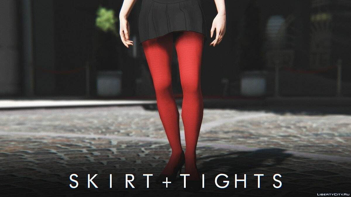 Pants and shorts Skirt + Tights (and socks) for MP Female 1.0 for GTA 5